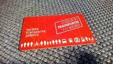 Multi Card ÖPNV Karte Tarjeta Metro Bus MadridSpanien mit 2 Fahrten Rest!