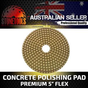 "5"" 125mm Premium Concrete Diamond Grinding and Polishing Pad Disk - FLEX C"