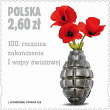POLEN 2018 Stamp 100th anniversary of the end of the First World War(2018; Nr k