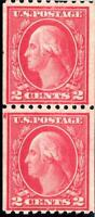 ORLEY STAMPS:US Stamp Scott #488 MNH/OG Fresh joint line pair. F/VF