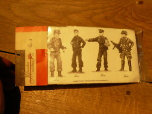 Soldier Lead Years 70 Packaging Original Panzer Troops Made IN USA