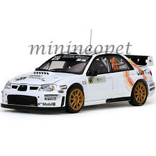 SUN STAR 4486 SUBARU IMPREZA WRC07 #22 CORSE RALLY FRANCE 2008 1/18 WHITE