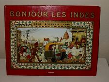 Bonjour Les Indes (Hello India) French Graphic Novel Book Dodo, Ben Radis, Jano