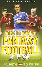 How to Win at Fantasy Football: Includes The Sun's Dream Team-ExLibrary