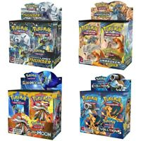 324pcs Pokemon cards Sun & Moon GX Booster Box Collectible Trading Cards Game