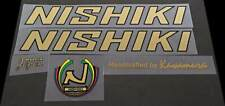 1 Pair Nishiki International Combo Down Tube Decals sku Nish114