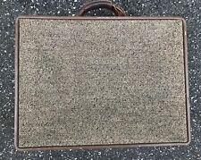 Vintage HARTMANN Tweed Belting Hard Attache Case Travel Luggage Bag