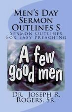 NEW Men's Day Sermon Outlines S: Sermon Outlines For Easy Preaching