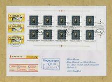 Der Heinrich von Kleist-Ersttagsbrief mit Zehnerbogen Ersttagssonderstempel ATM