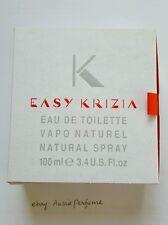 Easy Krizia 100ml/ 3.4oz EDT Spray Womens Perfume Rare Vintage Discontinued