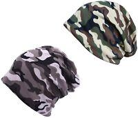 Hommes / Garçons Camouflage Bonnet Léger Pêche Casquette Ski Souple Bonnets