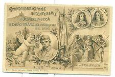 COMMEMORAZIONE BICENTENARIA di PIETRO MICCA e della VITTORIA DI TORINO 1906
