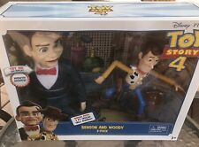 Disney Pixar Toy Story 4 Benson And Woody Poseable Doll 2 Pack HARD TO FIND