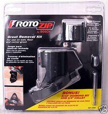 "RotoZip Bosch Grout Removal Kit RZ-GRK w/ Bonus 3/16"" Diamond Bit & 1/4"" Collet"