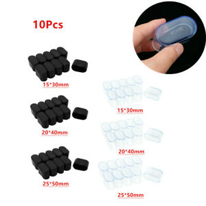 10x_ Rubber Furniture Foot Table Chair Leg End Caps Cover Tips Floor Protectors