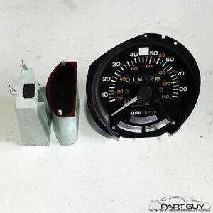 TESTED 1980 Trans Am 80 mph Speedometer WITH Trip Ticker Firebird Speedo Formula