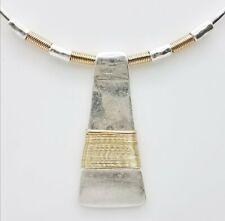 Robert Lee Morris Silver Tone Collar Necklace TT121-OS