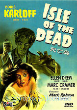 Isle of the Dead (1945) - Boris Karloff, Ellen Drew - DVD NEW