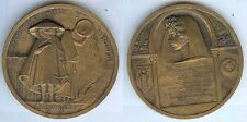 Médaille de table - TUNISIE cinquantenaire protectorat DOUMERGUE président 1931