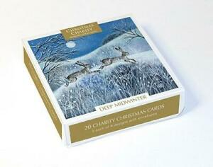 Christmas Cards - Box of 20 Assorted by Lucy Grossmith - Deep Midwinter