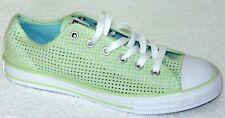 Girls Converse CTAS Ox Junior Sneakers   Color:Pistachio Green Size: 5