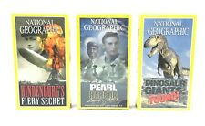 National Geographic LOT of 3 VHS 1999 - 2001