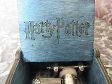 Boite à musique en bois Harry Potter