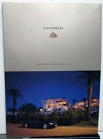2004 Maybach Moments Promotional Magazine History Model Information More