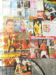 QUEEN  128 TEILE/PARTS  CLIPPINGS  LOT   0421