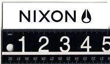 NIXON WATCHES WHITE STICKER Nixon Skate Surf Snow 5 in x 1.25 in Decal
