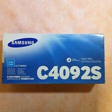 Samsung C4092S Cyan Toner Cartridge Clt-C4092S