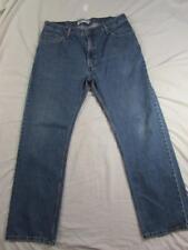 Levi 505 Straight Leg Regular Fit Faded Denim Jeans Tag 36x32 Measure 36x32