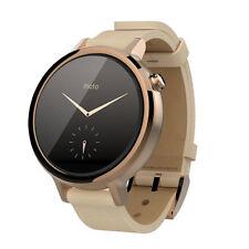 Motorola Moto 360 2nd Gen 42mm Smartwatch Leather Band - Rose Gold/Blush Pink