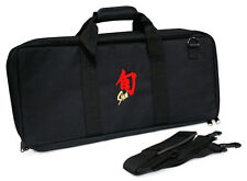 Shun 20 Pocket / Slot Knife Storage Roll / Bag / Luggage - Black