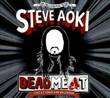 Steve Aoki Deadmeat: Live at Roseland Ballroom (2012, CD, Digipak) New/Sealed