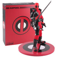 Deadpool Armed With Guns Sword Version PVC Action Figure Collectible Model Toy