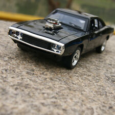 DODGE CHARGER 1970 1:32 MUSCLE Model Cars THE FAST&FURIOUS  Black Alloy Diecast