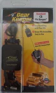 "Gear Keeper RT4-4112 28"" Retractable Holder CB Radio Microphone Hanger - Black"