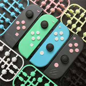 6 Colors Replacement Face Key Buttons Set for Nintendo Switch Joy Con Controller