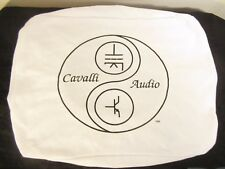 Cavalli Audio Tube Amplifier White Elastic Cover - BIN $29.99 - Free Shipping!