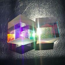 34*34*36mm Defective Optical Prism Dichroic Cube Beam Splitter f DIY Decoration