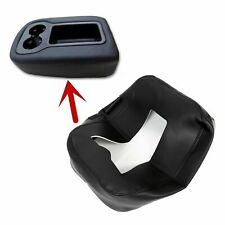 Armrest Console JUMP SEAT Cover Top For 2007-2014 Silverado Tahoe Sierra Black