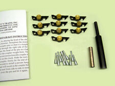 American Flyer Brass Weight Link Coupler Repair Kit w/ Couplers, Pins & Tools