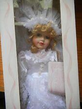 "American Classics Porcelein ""Leslie"" Bride Doll"