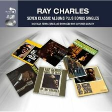 7 Classic Albums, Vol. 2 by Ray Charles (CD, Nov-2012, 4 Discs) Free Shipping!