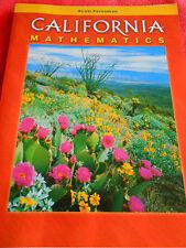 CALIFORNIA MATHEMATICS LEVEL 1 WORKBOOK EDUCATIONAL JENNIE BENNETT