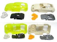 2 TYCO Nissan 300ZX HO Slot Car Body TEST SHOTs V.COOL
