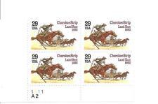 USA MNH PB4 SC#2754 CHEROKEE STRIPLAND RUN STAMPS 1993 S-494