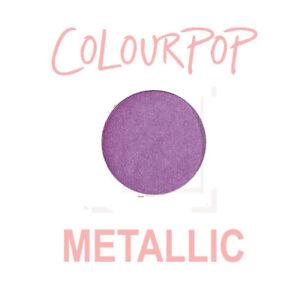 ColourPop Pressed Powder Eye Shadow Pan - ON THE RISE - metallic vivid violet