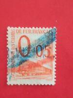 N°240 lot 20 timbres taxes société nationale des chemins de fer Decaris BE